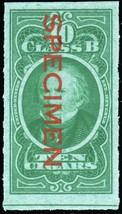 C58S, Cigar Tax Paid Specimen Stamp - Hard to Find! - Stuart Katz - $35.00