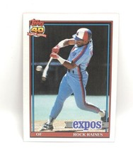 1991 Topps Baseball Card #360 - Rock Raines - Montreal Expos - OF - $0.99