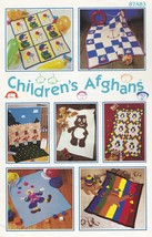 Children's Afghans, Annie's Crochet Pattern Booklet 87A83 and Camel Pill... - $15.95