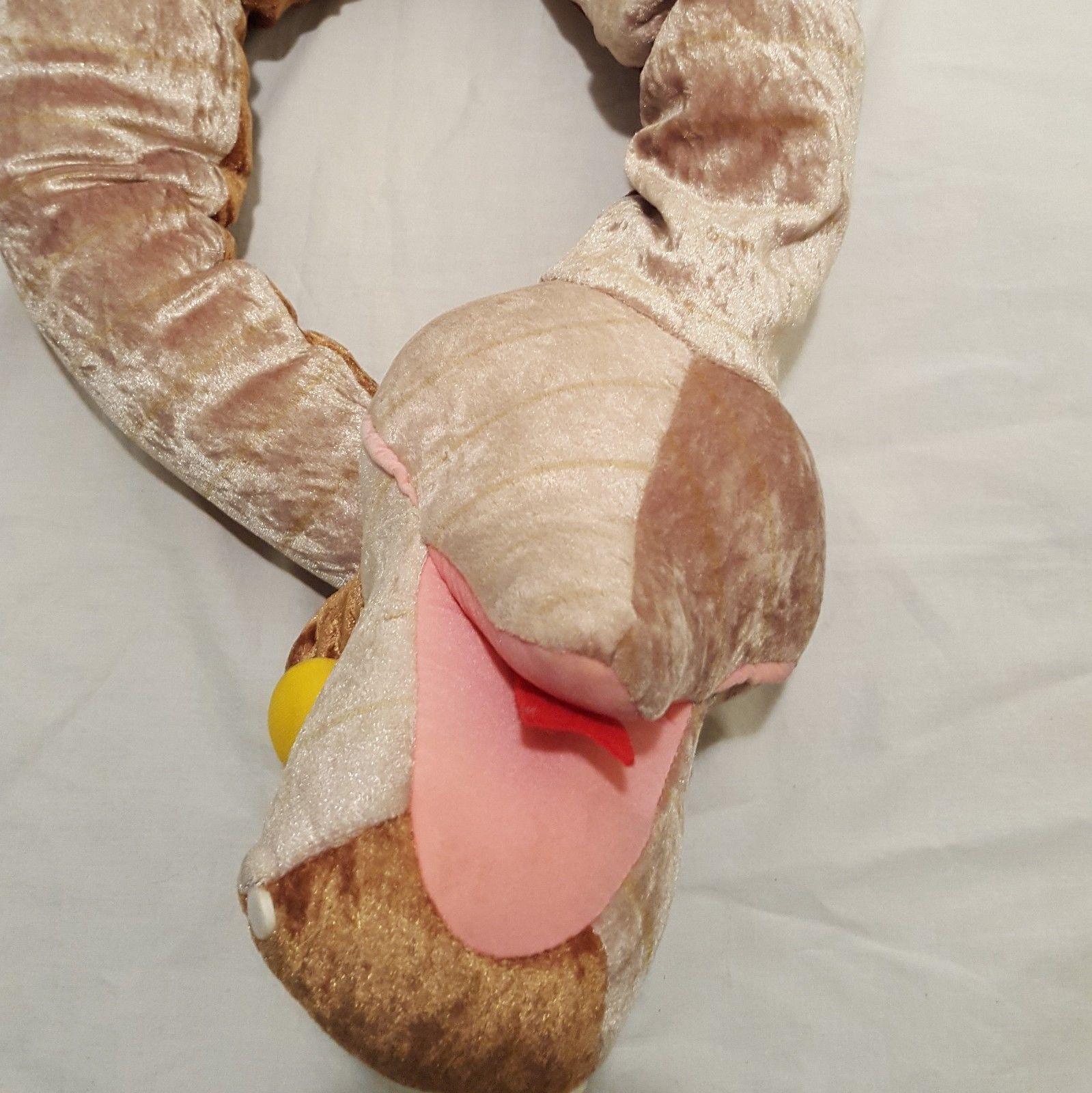 "Walt Disney The Jungle Book Snake Kaa Plush Stuffed Animal 44"""