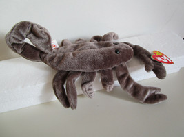 TY Beanie Babies STINGER gray scorpion PLUSH TOY  1997 - $5.99