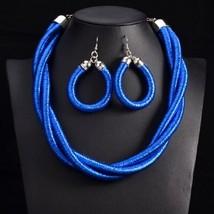 UDDEIN Color wind handmade statement choker necklace & pendant Ethnic cu... - $16.38