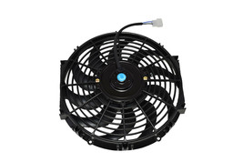 "170071 12"" Heavy Duty Radiator Electric Wide Curved Blade FAN 1400CFM 12V"