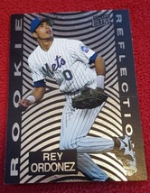 1997 Fleer Ultra Rookie Reflections #8 Rey Ordonez - $1.00