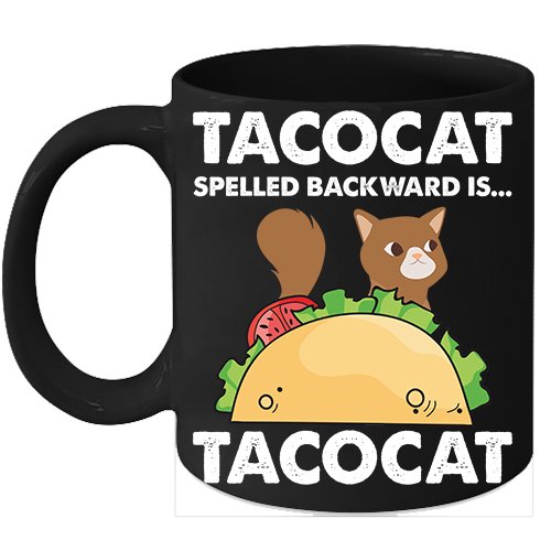 Primary image for Tacocat Mugs Funny Gift For Taco Lover Tacocat Coffee Mug