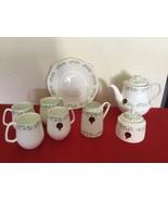 Royal Tara Shamrock Ireland Bone China Set Mugs Saucer Bowl Cake Plate NWT - $300.00