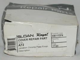 Genuine Sloan Repair Parts Variation Chrome Plate Finish 0301172PK image 1