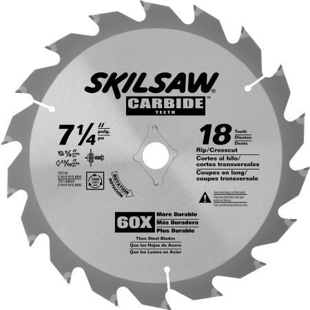 Skil 75718 7-1/4 18T Carbide Blade