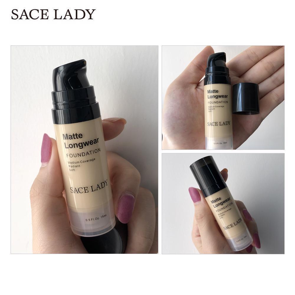 Foundation Base Makeup Professional Face Matte Finish Liquid Make Up Concealer image 9