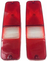 70-78 INTERNATIONAL SCOUT 2 II TAIL LIGHT LENS SET BRAKE LENS 69-75 D-SERIES