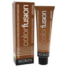 Redken Color Fusion Cream Natural Fashion Hair Color for Unisex, No.5BR Brown/Re - $13.41