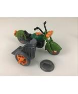 Teenage Mutant Ninja Turtles Turtlecycle Motorcycle Sidecar Can Vintage ... - $31.14