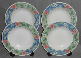 Set (4) Mikasa Provincial CHATEAU PATTERN Soup Bowls - $15.83