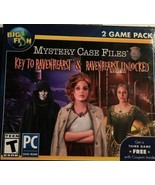 NEW PC Hidden Object Game: Mystery Case Files KEY TO RAVENHEARST & RAVEN... - $19.95
