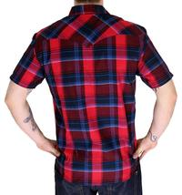 BRAND NEW LEVI'S MEN'S CLASSIC COTTON CASUAL BUTTON UP PLAID SHIRT 3LYSW6062-RED image 4