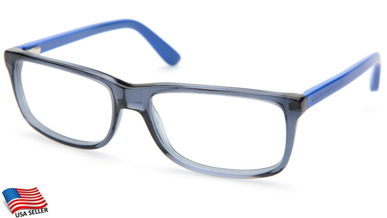 Primary image for MARC BY MARC JACOBS MMJ513 7P1 SMOKE BLUE EYEGLASSES FRAME 54-18-140mm