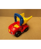 Fisher Price Little People Dump Truck 5in W x 8in L x 7in H Red/Yellow/B... - $13.40