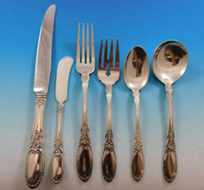 Old Mirror by Towle Sterling Silver Flatware Set for 8 Service 58 Pieces - $2,495.00