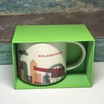 Starbucks You Are Here Philadelphia Collector Series Coffee Mug New 14 oz - $19.99