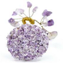Polished Amethyst Gemstone Miniature Gem Tree Mini Gemtree image 4