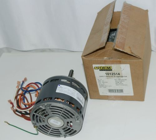Emerson 1012514 OEM Parts Direct Drive PSC Blower Motor 115 Volts