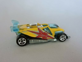Buzz Off Hot Wheels Yellow Toy Car 2004 Mattel Diecast Loose Malaysia - $6.30