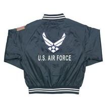 U.S. Air Force Satin Jacket - Blue - $79.95