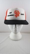San Francisco Giants Hat (VTG) - Done in Team Colours - Adult Snapback - $49.00