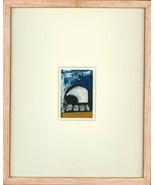 Deborah Whitman - Contemporary Pastel, Abstract Composition, 'Elephant' - $509.96