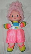"""Tickled Pink Rainbow Brite friend vintage baby doll bright Hallmark 15"""" - $13.36"""