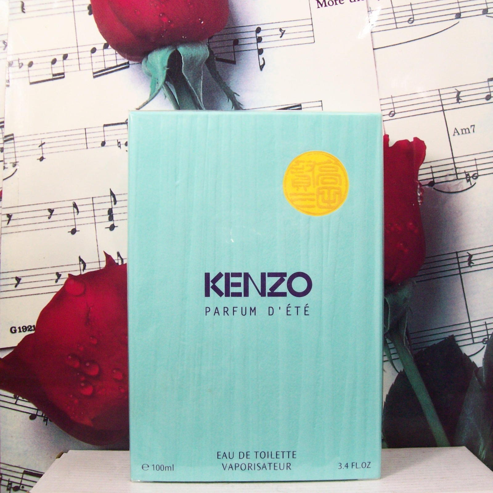 Primary image for Kenzo Parfum D'ETe EDT Spray 3.4 FL. OZ. NWB. Vintage.