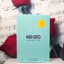 Kenzo Parfum D'ETe EDT Spray 3.4 FL. OZ. NWB. Vintage. - $249.99