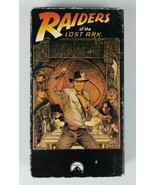 RAIDERS of the Lost Ark VHS 1989 Paramount LUCASFILM Starring Harrison F... - $4.99