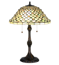 "25""H  Diamond & Jewel Table Lamp - 18728 - £494.73 GBP"
