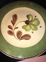 pier one sofie green flower plates bundle of 3 - $39.19