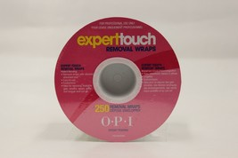 AC820 - OPI Expert Touch GelColor Nail Polish Removal Wraps 250 ct.  - $12.99