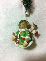 Cherished Teddies Ornament 2008 Dated Bear With Mittens  NIB  SIGNED - $52.42