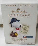Hallmark Peanuts Spotlight on Snoopy The Legal Beagle 2006 Ornament - $12.82