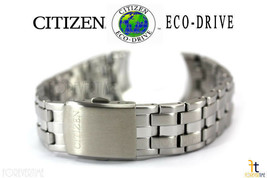 Citizen Eco-Drive Original AT0760-51L 22mm Stainless Steel Watch Band AT... - $148.20