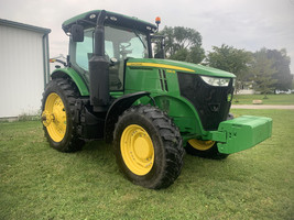 2017 John Deere 7210R Tractor FOR SALE IN Ubly, MI 48475 image 9