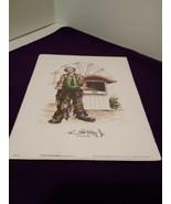 Emmett Kelly Jr~ 8 X 10 Print~ No Cash At Ticket Booth - $6.92