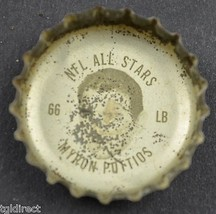 Coca Cola NFL All Stars King Size Bottle Cap Pittsburgh Steelers Myron P... - $4.99