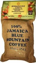 Ridgelyne Jamaica Blue Mountain Café Completo Granos 473 Ml - $55.00