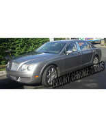 Bentley Flying Spur Continental Chrome Pillar Posts by Luxury Trims 2006... - $97.22