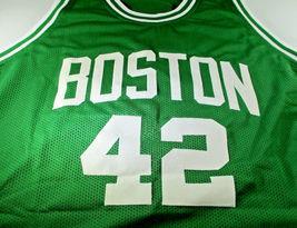 AL HORFORD / 5 X NBA ALL-STAR / AUTOGRAPHED BOSTON CELTICS CUSTOM JERSEY / COA image 2