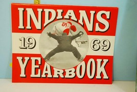 1969 Cleveland Indians Baseball American League Yearbook - $30.69