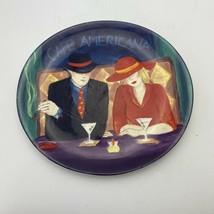 """Vintage Sango CAFE AMERICANA Oval Dinner Plate Pattern # 4911 11 1/4"""" x ... - $9.89"""