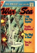 War at Sea #34 1960-Charlton-battle cover-Sam Glanzman-VG - $27.74