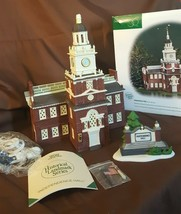 Dept 56 Heritage Village 1998 Historical Landmark Series INDEPENDENCE HA... - $48.00