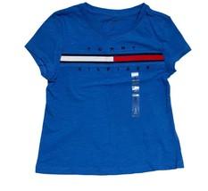 Tommy Hilfiger Kids T-Shirt Girls Blue- S (6-7) - $26.99
